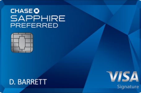 Chase Saphire Preferred Card Review and Benefits